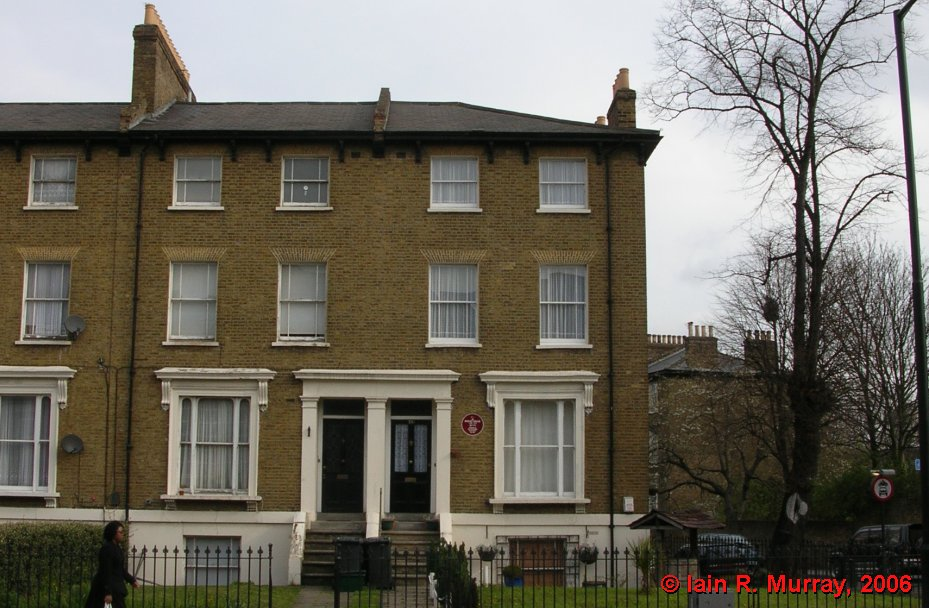 Wallis spent most of his formative years living in this house at 241 New Cross Road, London