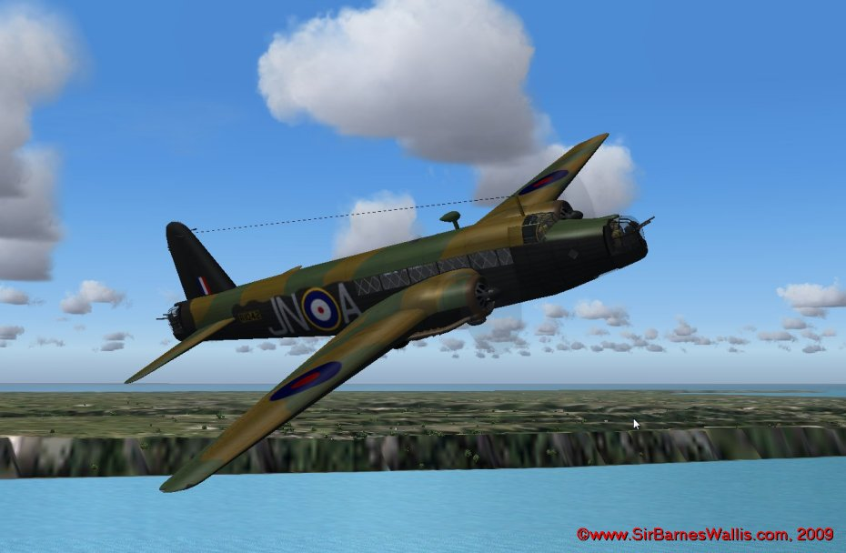 The Wellington was the main RAF bomber for the first years of the war - over 11,000 were built